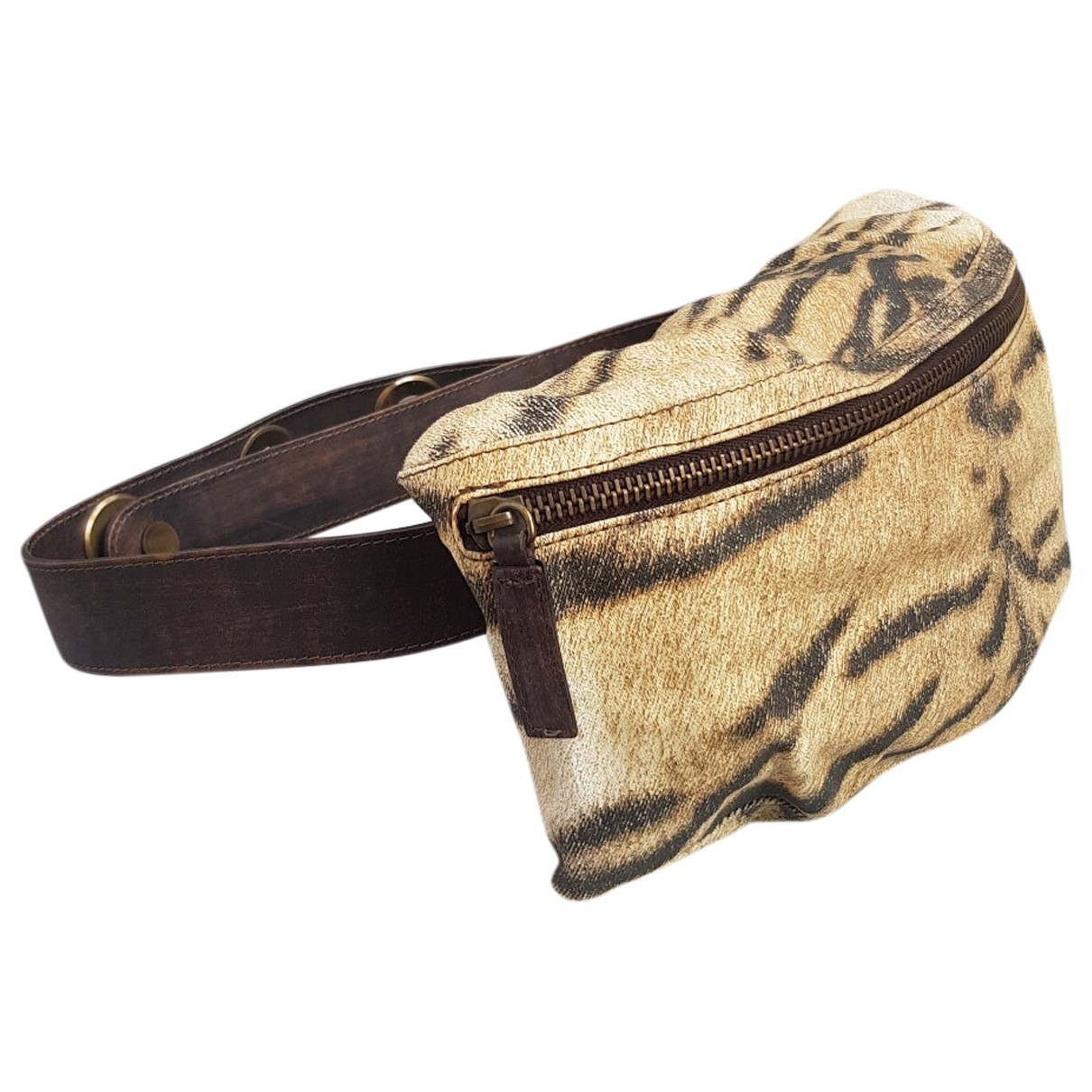 Roberto Cavalli \N Brown Cotton belt for Women M International