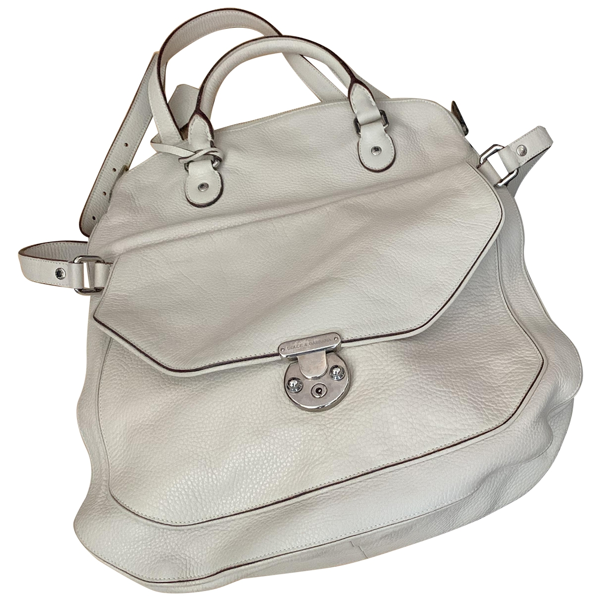 Dolce & Gabbana \N White Leather handbag for Women \N