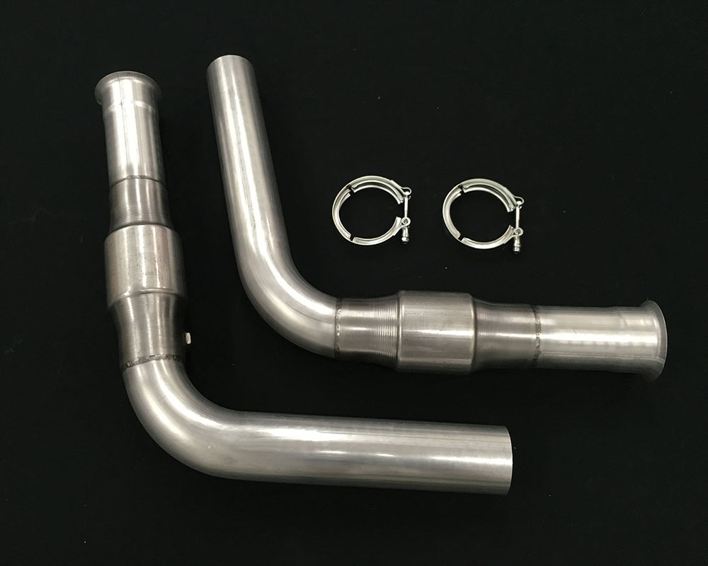 Belanger 3700-3in 3 inch Mid Pipes w/ Cats manifold Dodge Viper SRT Roadster | Coupe/ACR 03-06