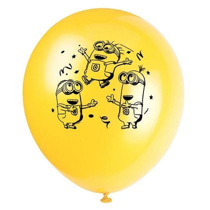 Ballons en latex Despicable Me Minions 12
