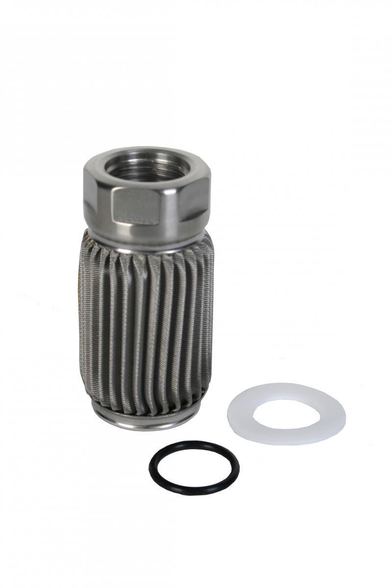 Aeromotive 12606 Fuel System Filter Element, Crimp, AN-10, 100 Micron Stainless Steel