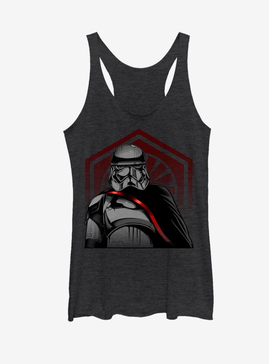 Star Wars Captain Phasma First Order Cape Womens Tank