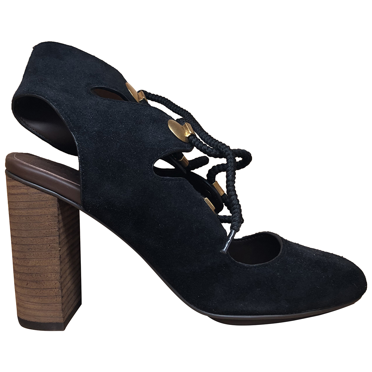 See By Chloé \N Black Suede Sandals for Women 41 EU