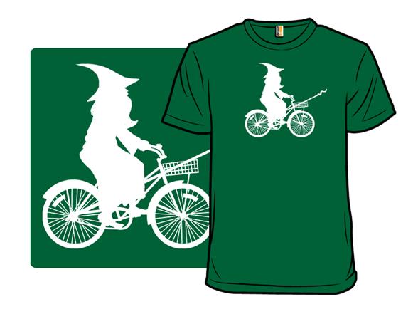 Green Wizard T Shirt