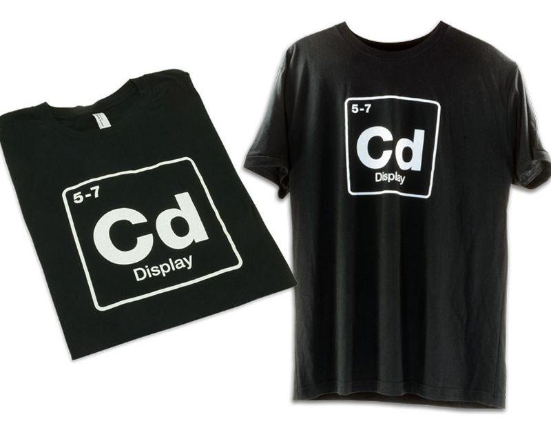 AEM Electronics 02-2017L CD Element T-Shirt Black L