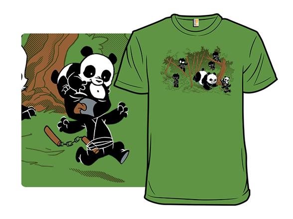 Unstealthiest Ninja: When Animals Attack T Shirt