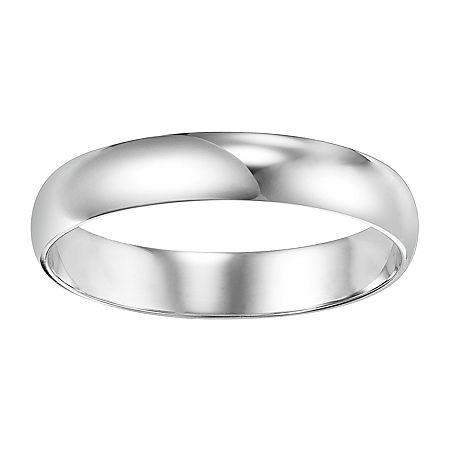 4MM 14K Gold Wedding Band, 11 1/2 , No Color Family