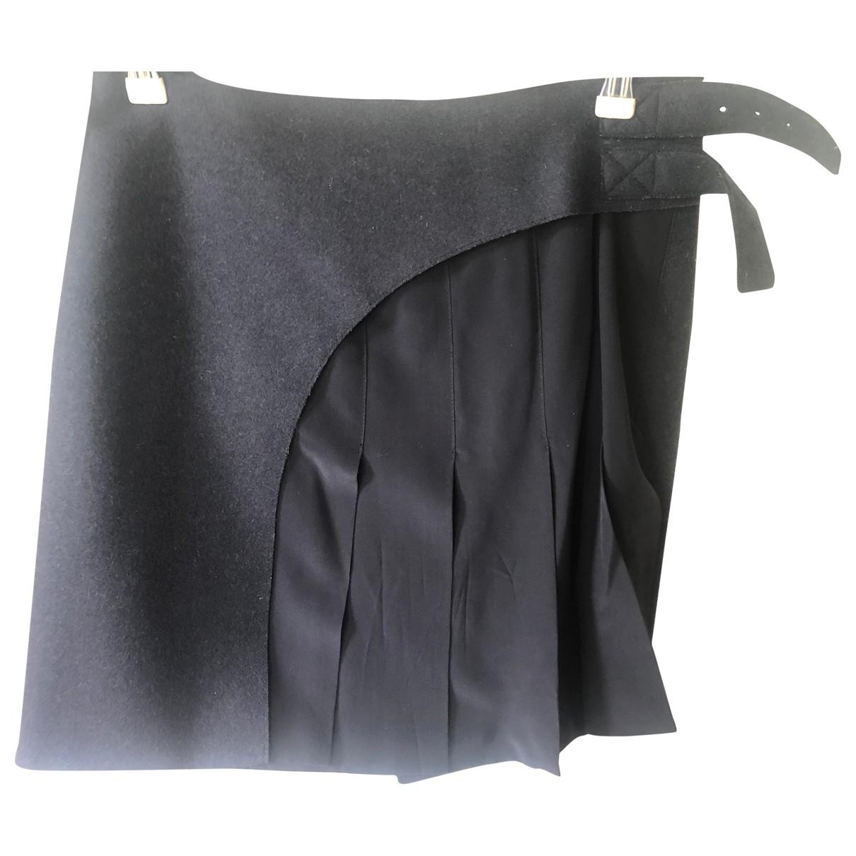 Joseph \N Navy Wool skirt for Women 38 FR