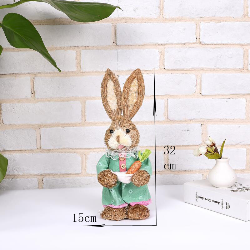 Easter Simulation Rabbit Home Garden Rabbit Decoration Creative Cartoon Photography