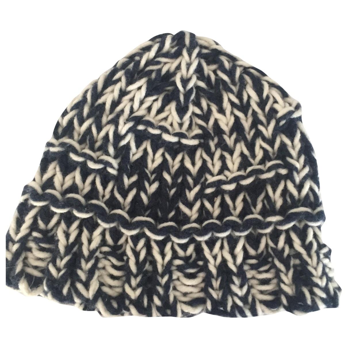 Soeur \N Blue Wool hat & Gloves for Kids \N