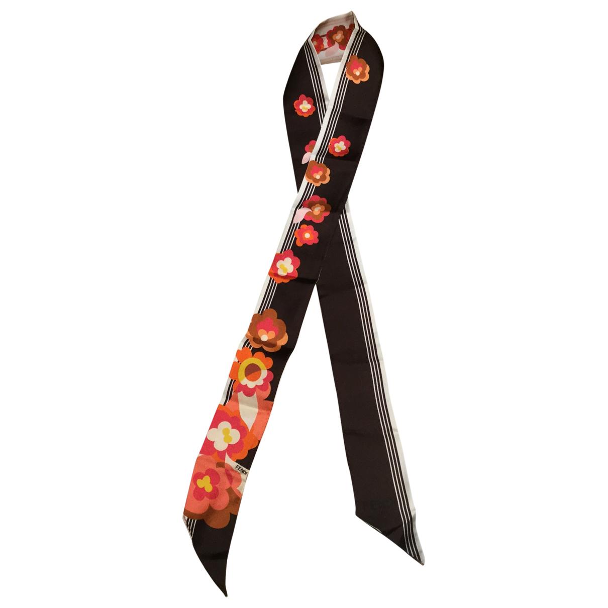 Fendi \N Multicolour Silk scarf for Women \N