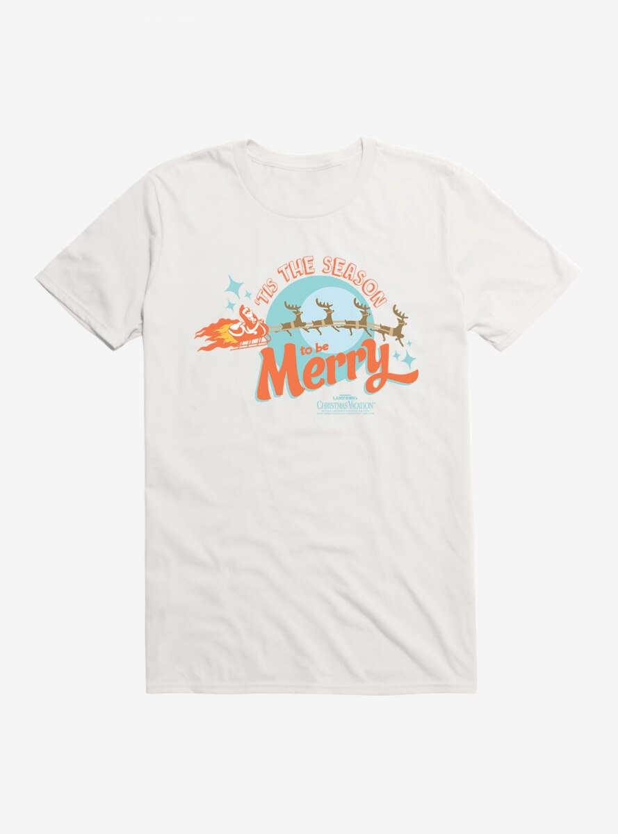 National Lampoon's Christmas Vacation Season To Be Merry T-Shirt