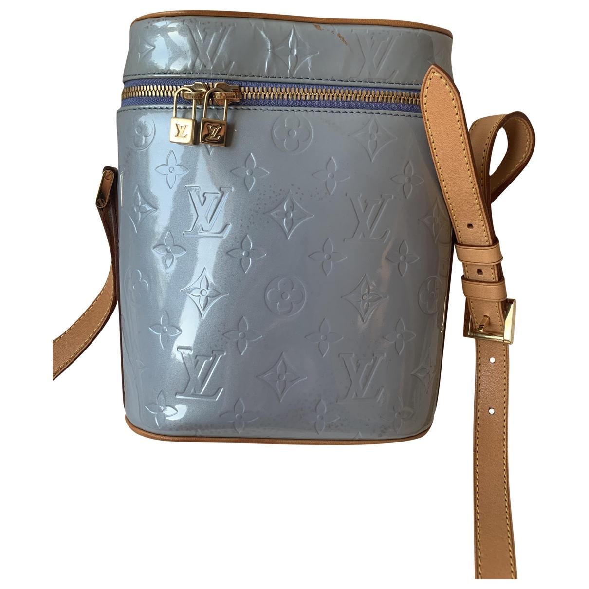 Louis Vuitton \N Blue Patent leather handbag for Women \N