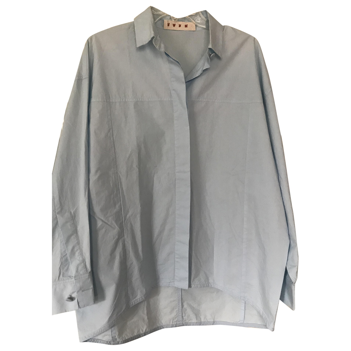Marni \N Blue Cotton  top for Women 40 IT