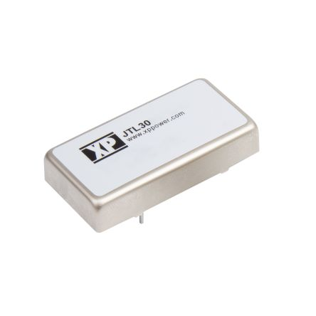 XP Power JTL 30W Isolated DC-DC Converter Through Hole, Voltage in 9 → 36 V dc, Voltage out 5V dc