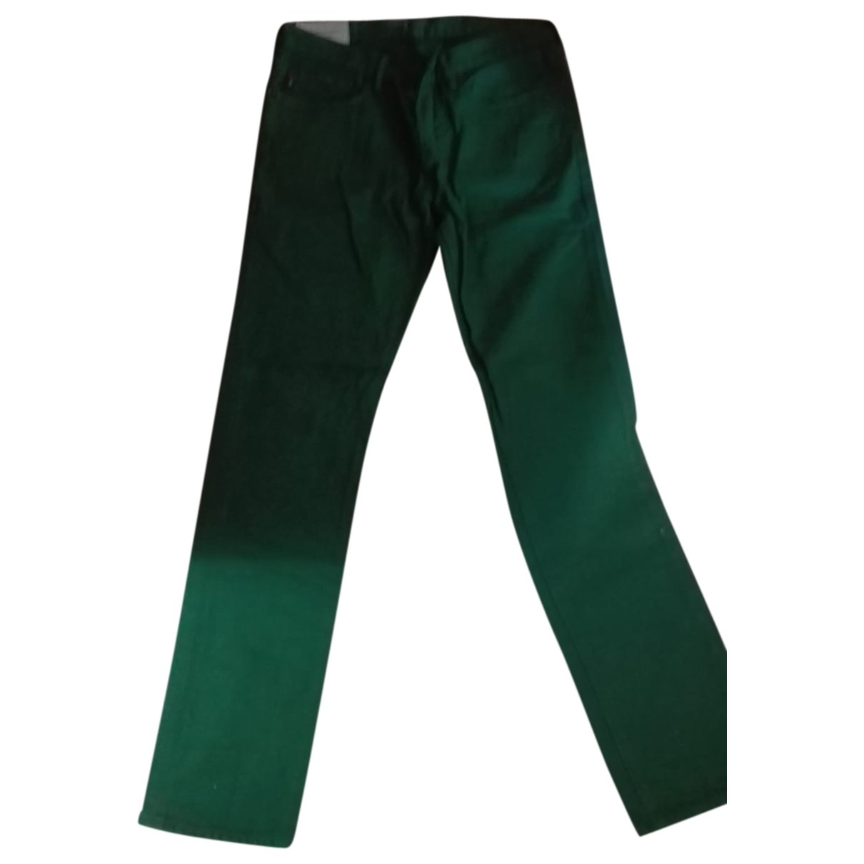 Abercrombie & Fitch \N Green Cotton Trousers for Men 32 UK - US
