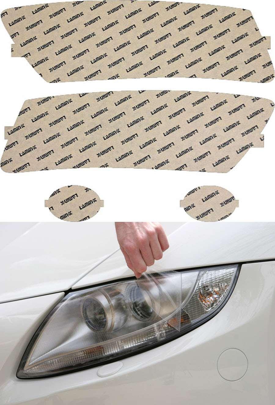 Audi A6 05-08 Clear Headlight Covers Lamin-X A009CL