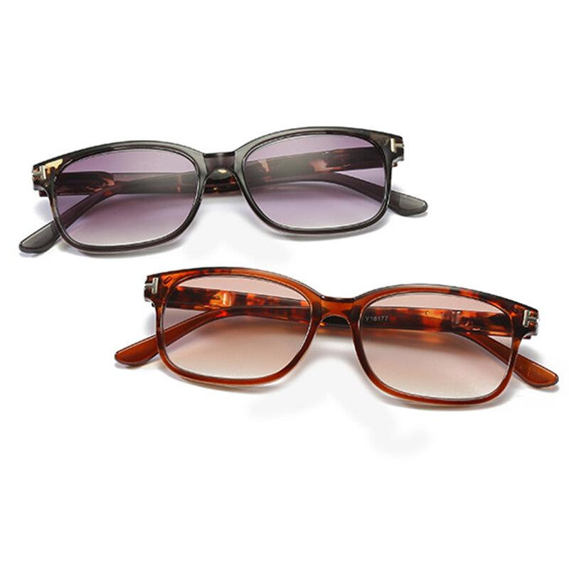 Men Women Unisex Rimless Classic Style Glass Lenses Reading Glasses Plain Mirror