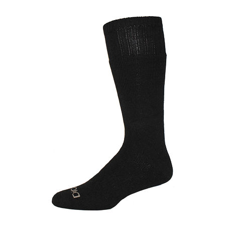 Dickies 2 Pair Crew Socks-Mens, 10-13 , Black