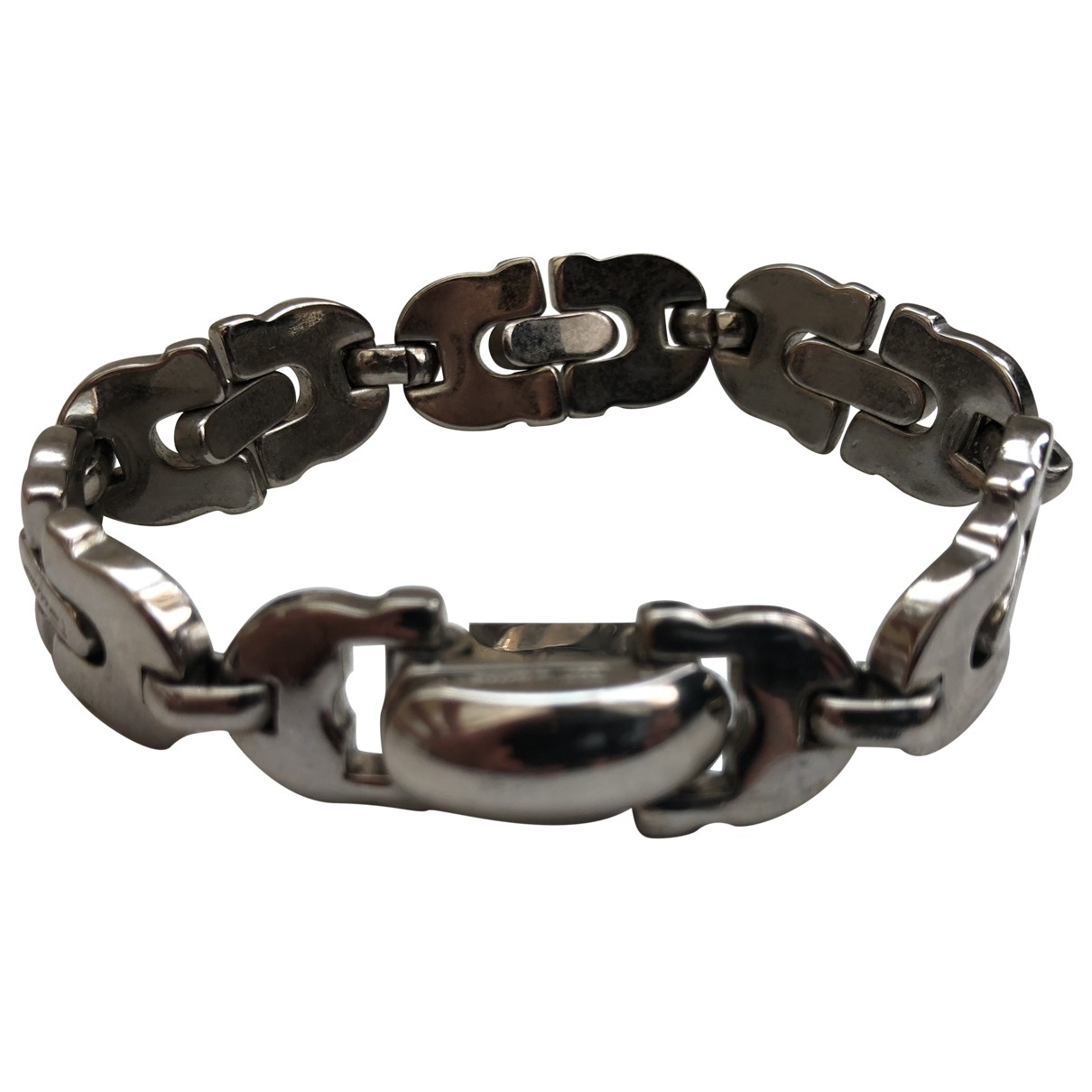 Salvatore Ferragamo \N Silver Steel bracelet for Women \N