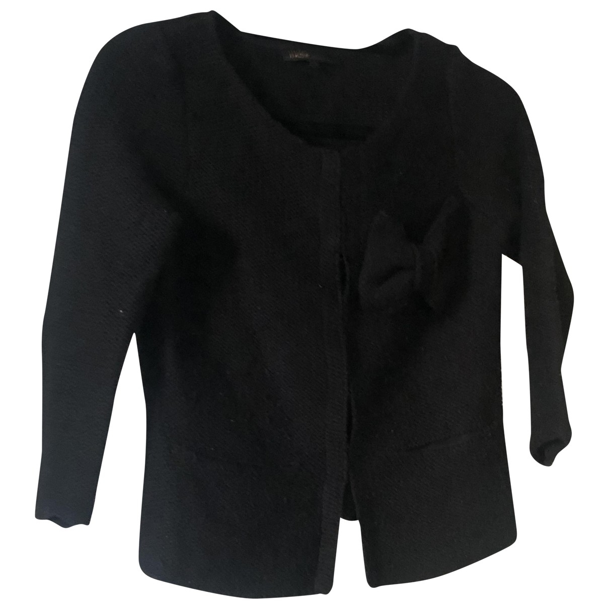 Maje \N Black Wool Knitwear for Women 1 0-5