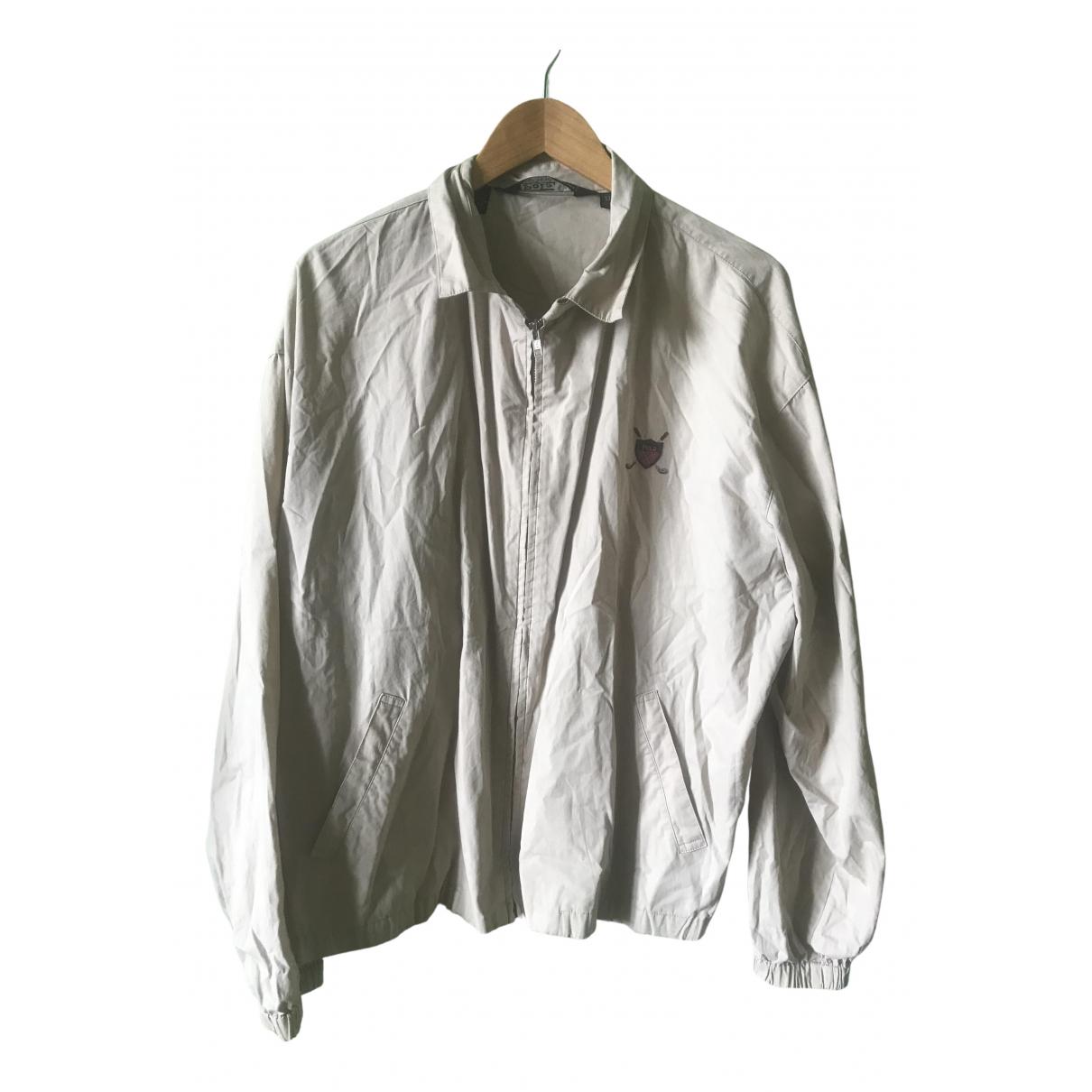 Polo Ralph Lauren \N Beige Cotton Leather jacket for Women XL International