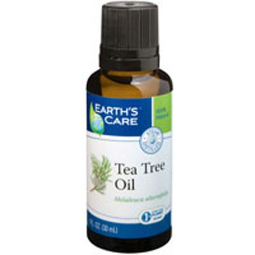 Tea Tree Oil 100% Pure and Natural 1 OZ by Earth's Care