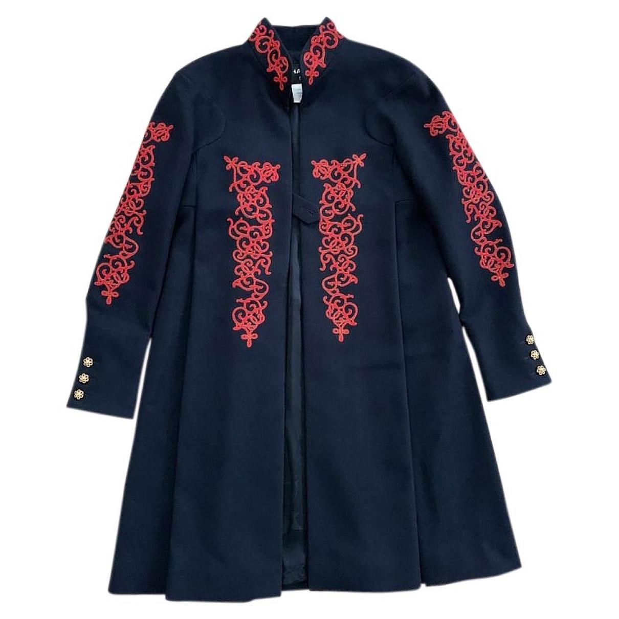Chanel \N Navy Wool coat for Women 40 FR