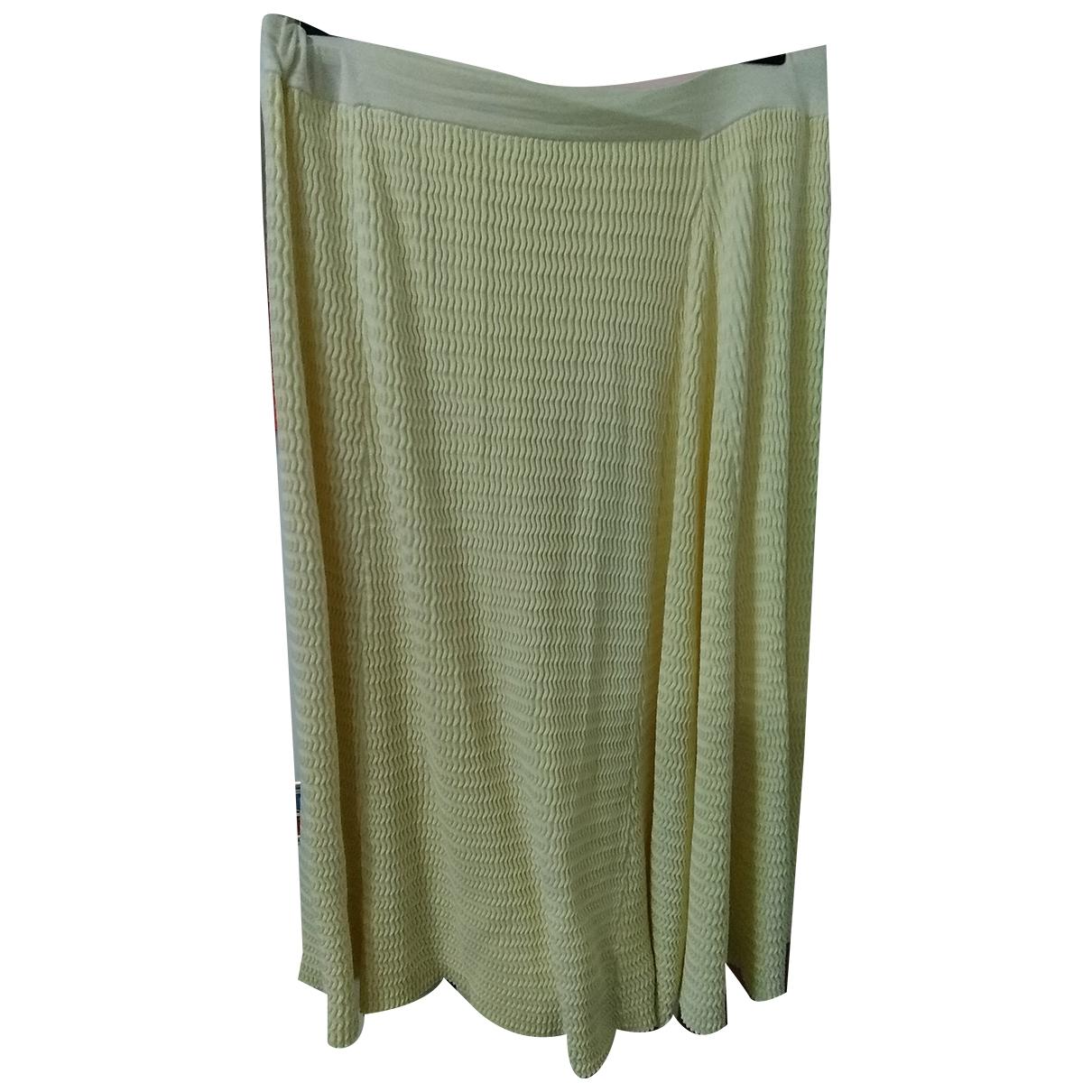 Cos \N Yellow Cotton skirt for Women L International