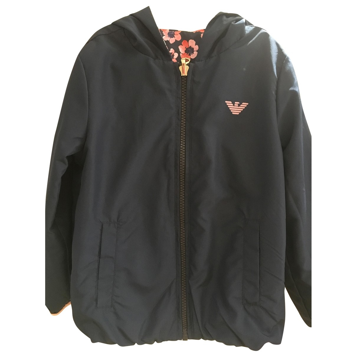 Emporio Armani \N Navy jacket & coat for Kids 4 years - up to 102cm FR