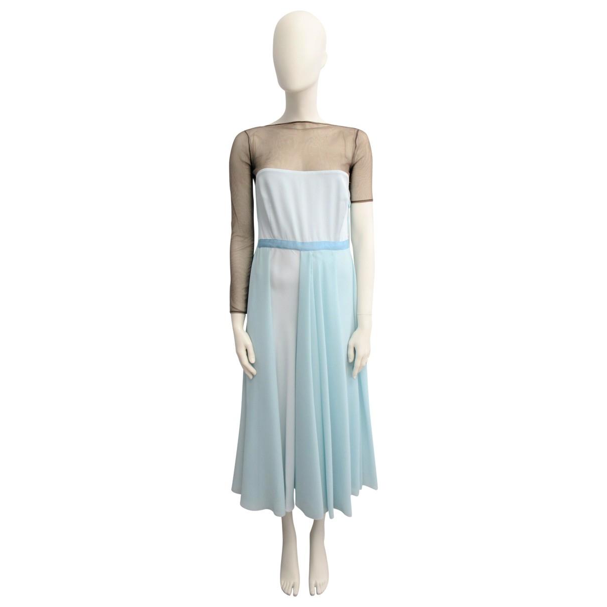 Vionnet \N Multicolour Silk dress for Women 40 IT