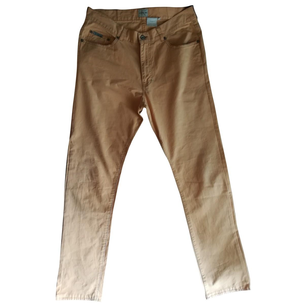 Calvin Klein \N Cotton Trousers for Men S International