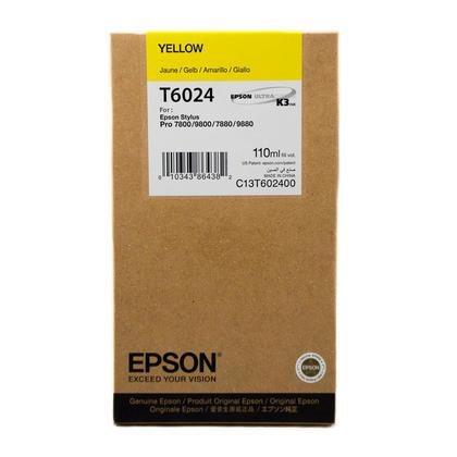 Epson T602400 cartouche d'encre originale jaune