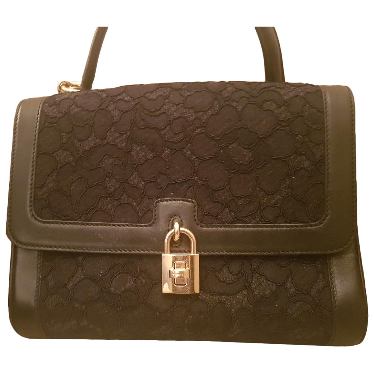 Dolce & Gabbana Sicily Black Cloth handbag for Women \N
