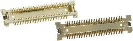 Hirose , FX11L, 140 Way, 2 Row, Straight PCB Header (5)