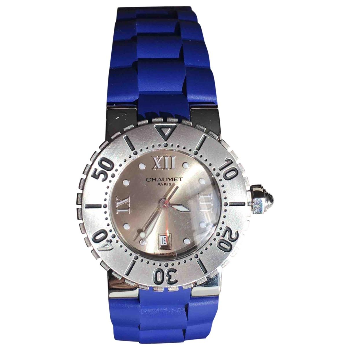 Chaumet Class One Blue Steel watch for Women \N
