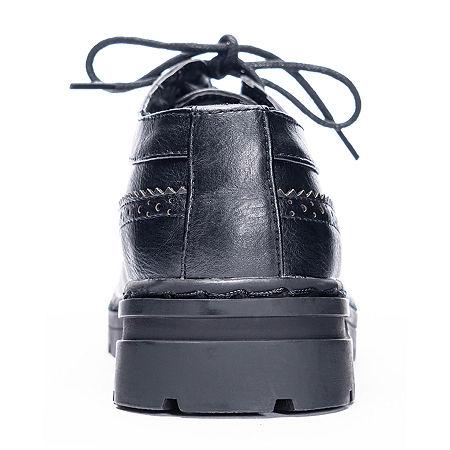 Laundry List Womens Slip-On Shoe, 6 1/2 Medium, Black