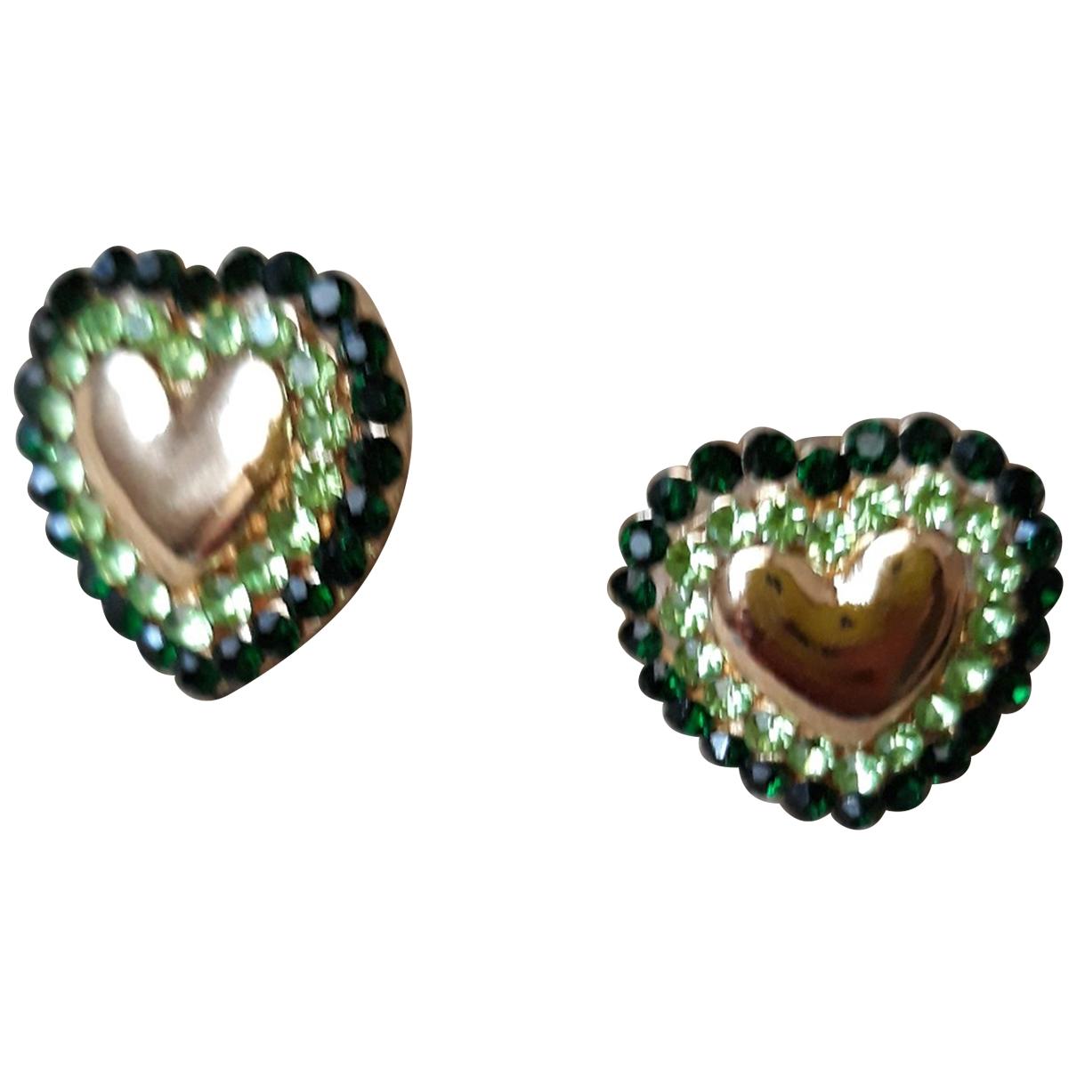 Non Signé / Unsigned Motifs Coeurs Metal Earrings for Women \N