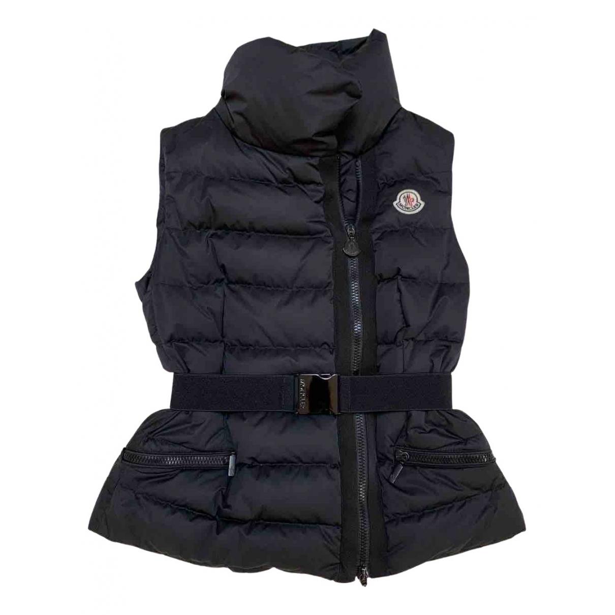 Moncler Sleeveless Black coat for Women XS International