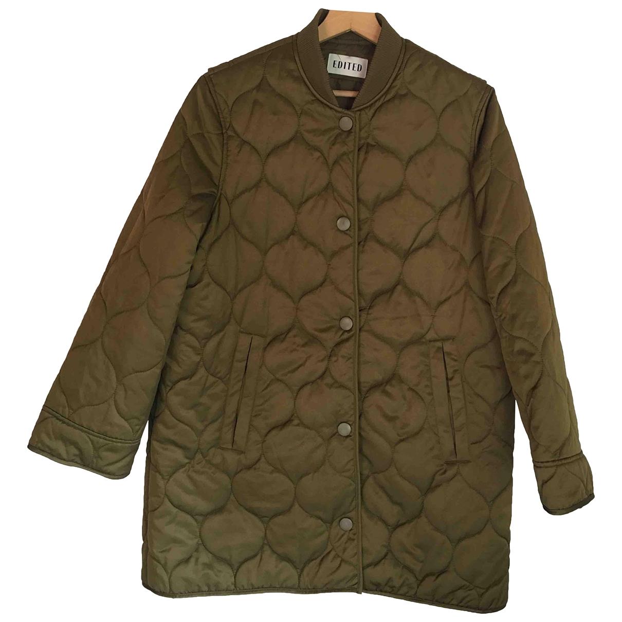 Non Signé / Unsigned \N Khaki coat for Women 42 IT