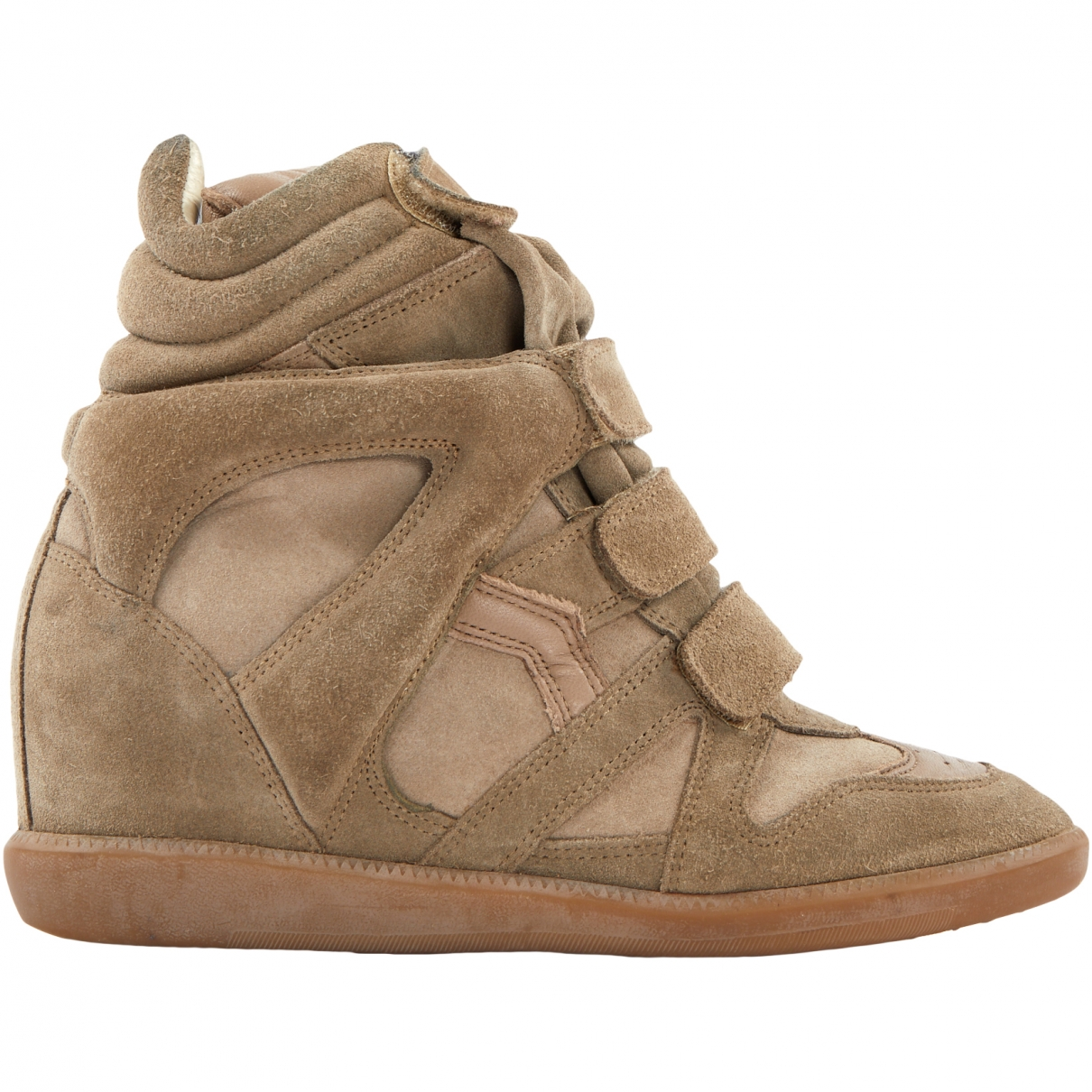 Isabel Marant Bayley Beige Suede Trainers for Women 40 EU