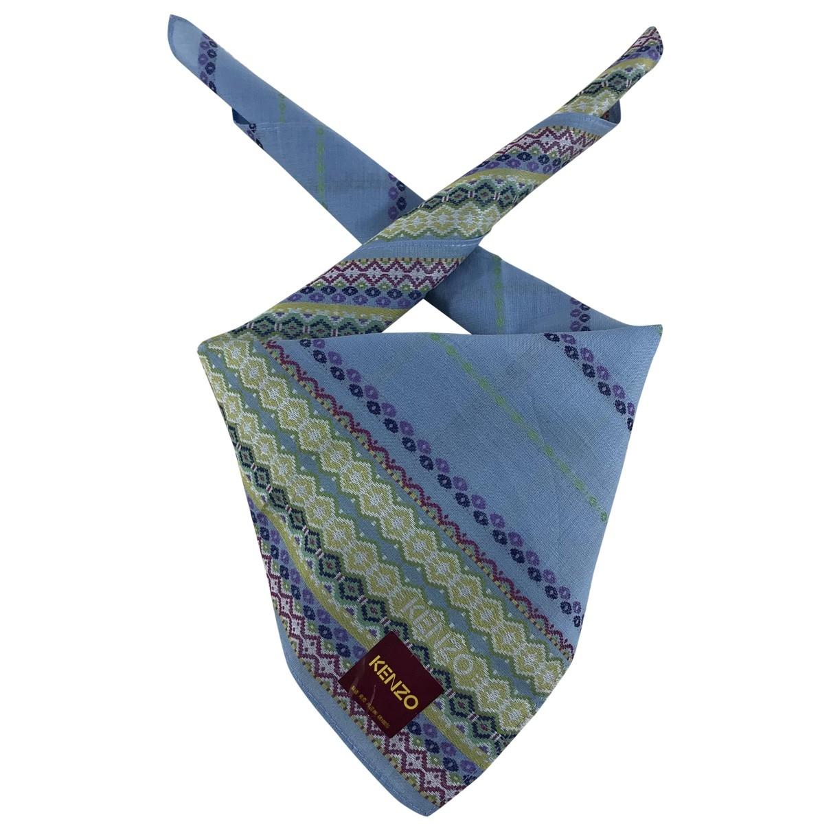 Kenzo \N Multicolour Cotton scarf for Women \N