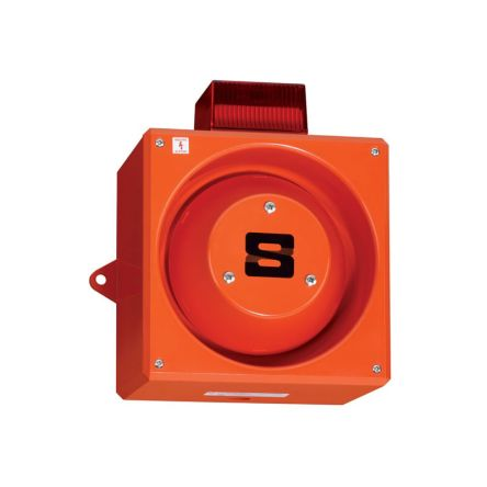 Clifford & Snell YL80 Super Sounder Beacon Amber Xenon, 24 V