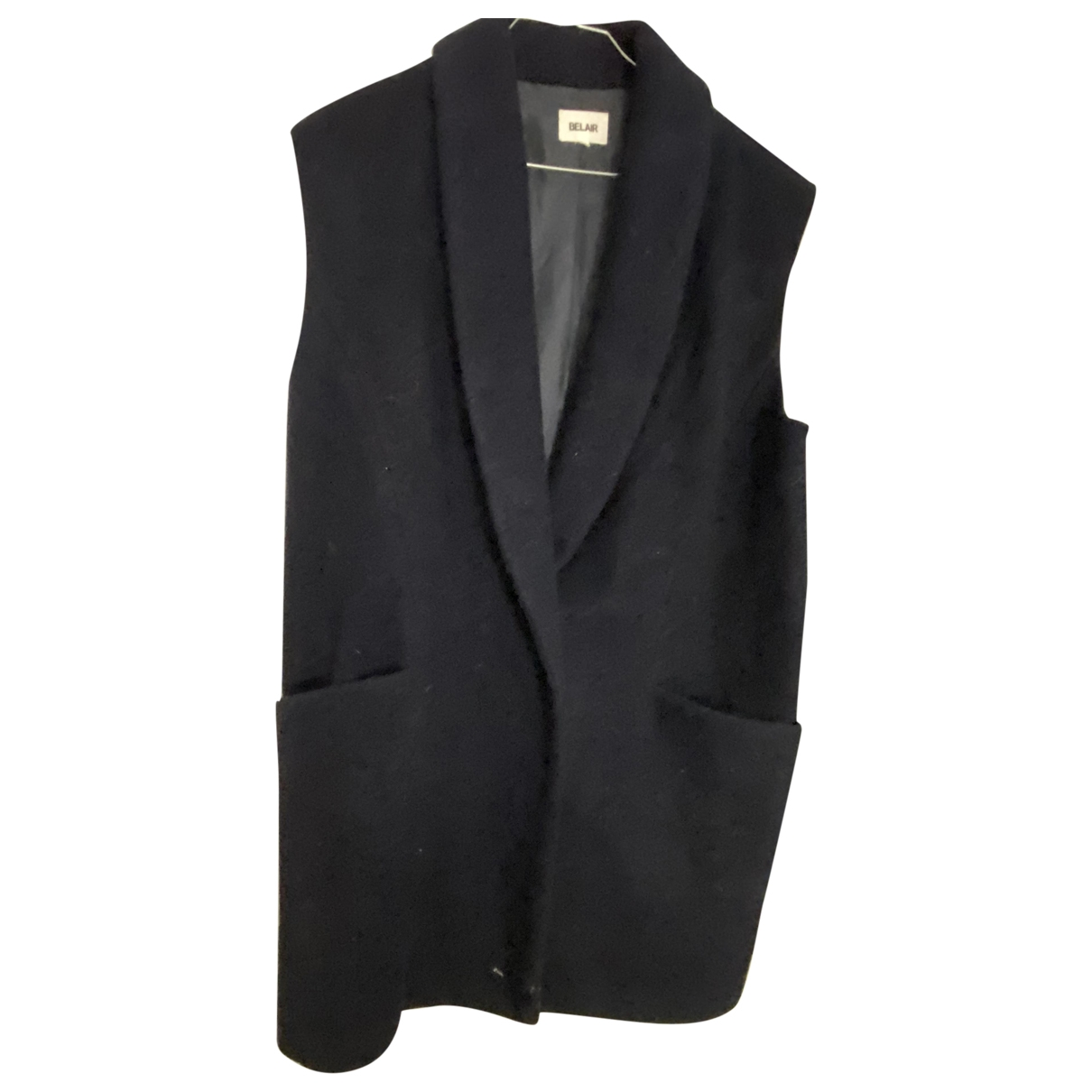Bel Air \N Navy Wool coat for Women 36 FR