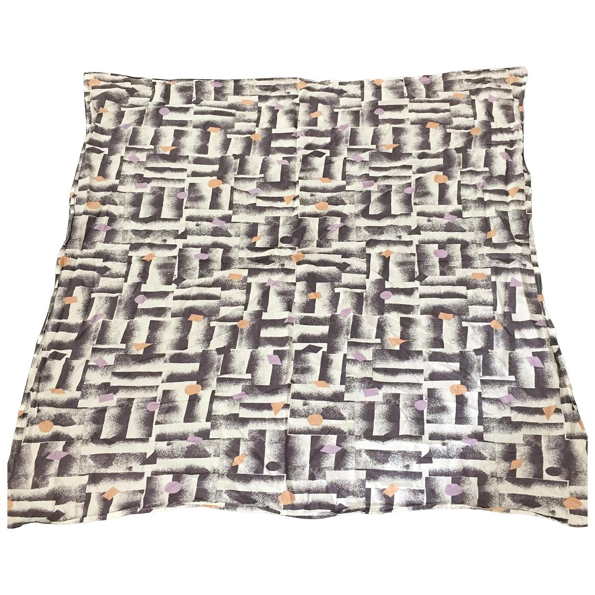 Wood Wood \N Grey Cotton scarf for Women \N
