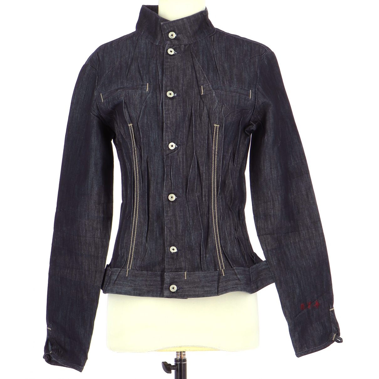 Autre Marque N Navy Cotton jacket for Women 40 FR
