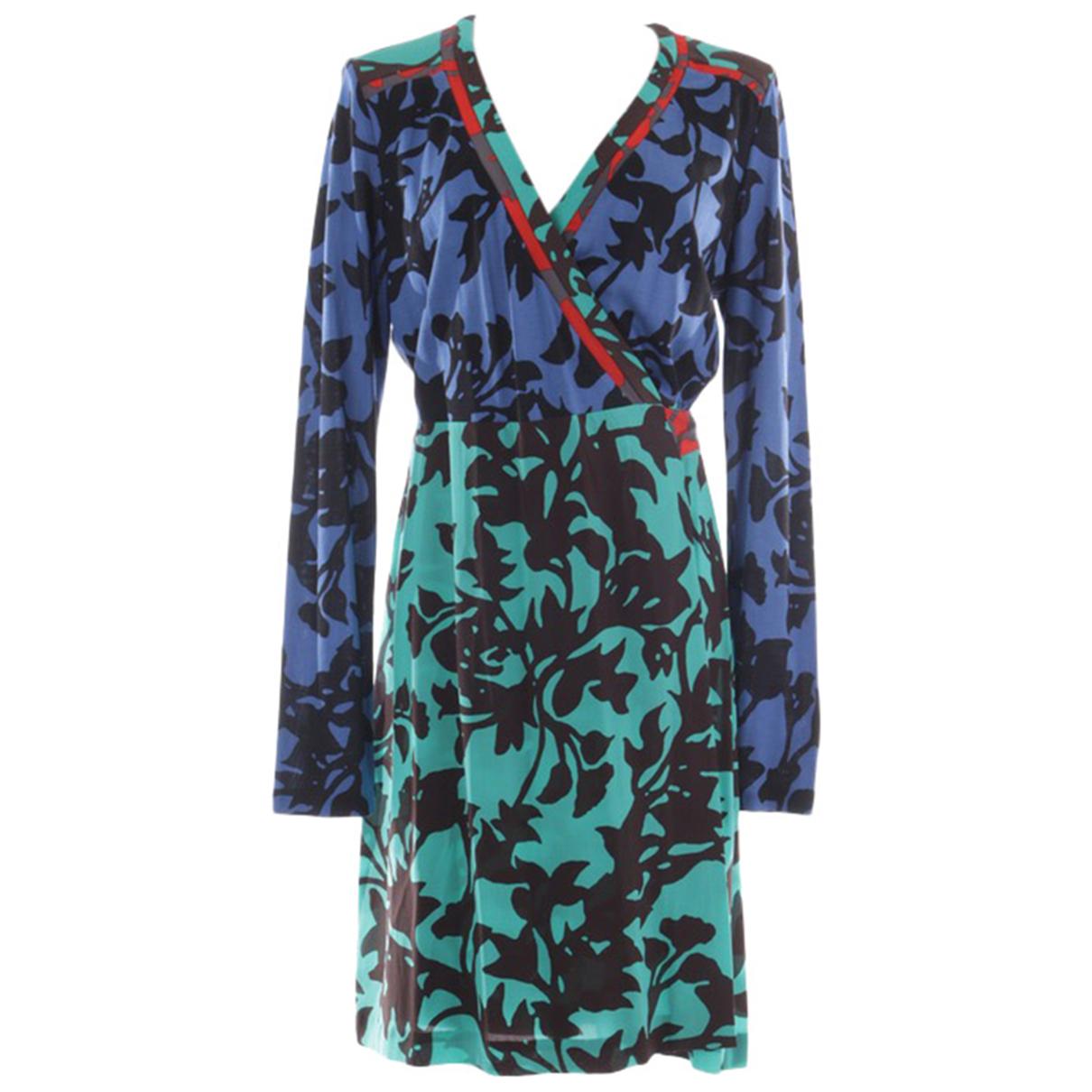 Diane Von Furstenberg \N Multicolour Silk dress for Women 44 FR