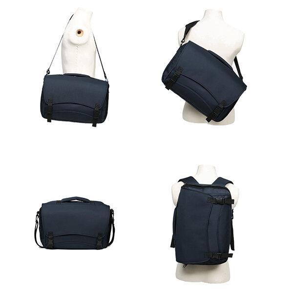 Oxford Multi-carry Multi-functional Casual Travel Crossbody Bag Handbag Backpack
