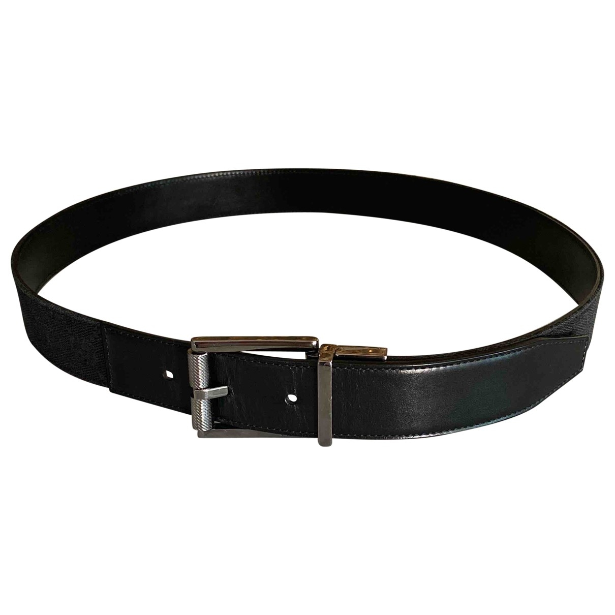 Gucci \N Black Leather belt for Men 80 cm