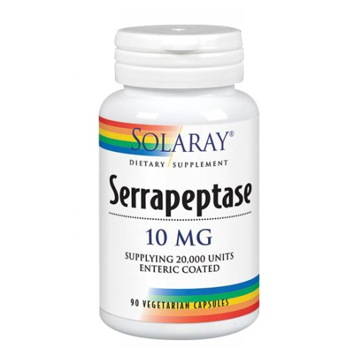Serrapeptase 90 Caps by Solaray